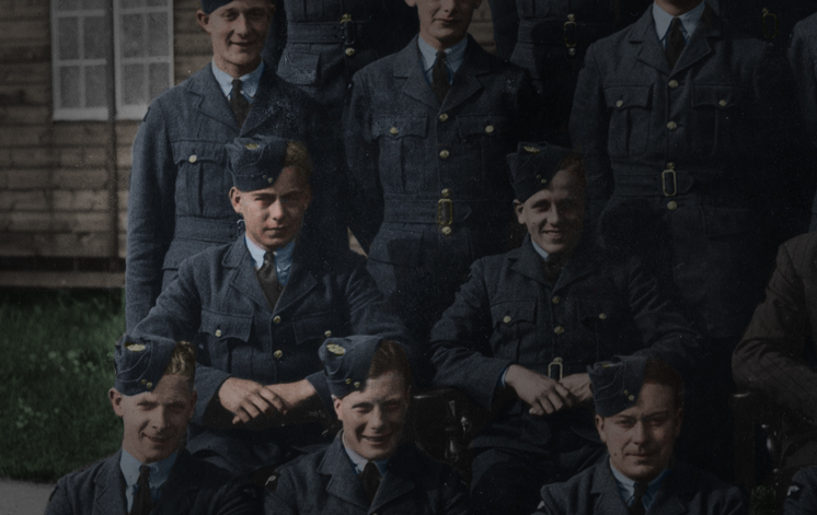 WW2 Colourised Photo