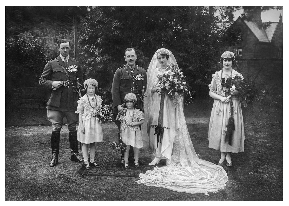 Restored Wedding Photo