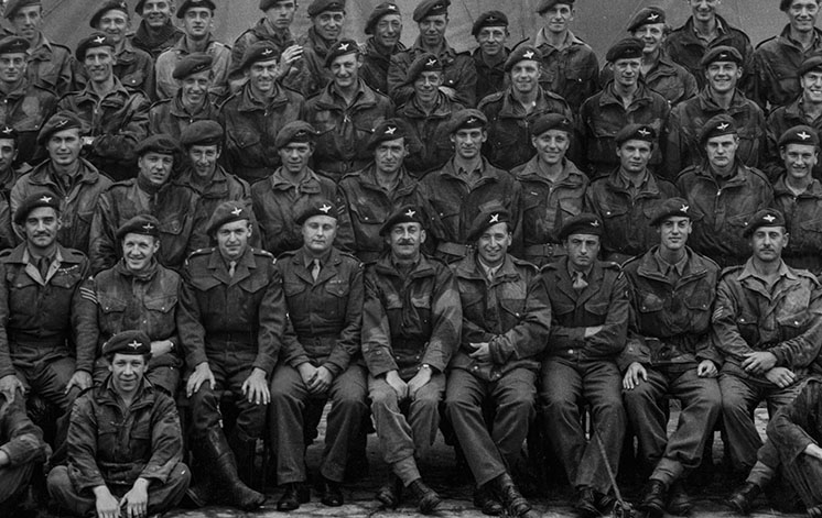 British Army Photo Restored